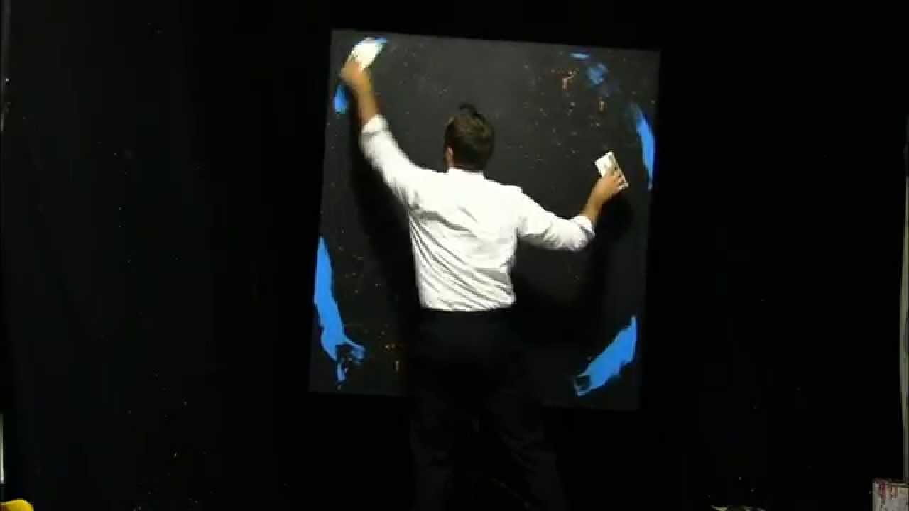 Speed Painter paints America's Got Talent host Howard Stern