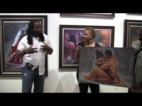 "African American Art – Kevin ""WAK"" Williams – Part I"